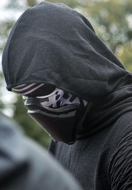 Star Wars Barmy Army - Darth Vader in a Hoody