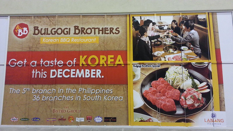 Bulgogi Brothers Korean BBQ Restaurant To Open in Davao at SM Lanang Premier