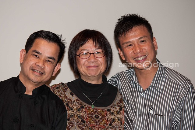 Kaya Chef SinSer Lim, Food Writer Stephanie Yuen, General Manager Scott Kwan