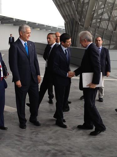 Accolgo Il Presidente Mario Monti