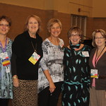 Teacher Librarians enjoying the Iowa Library Association Conference