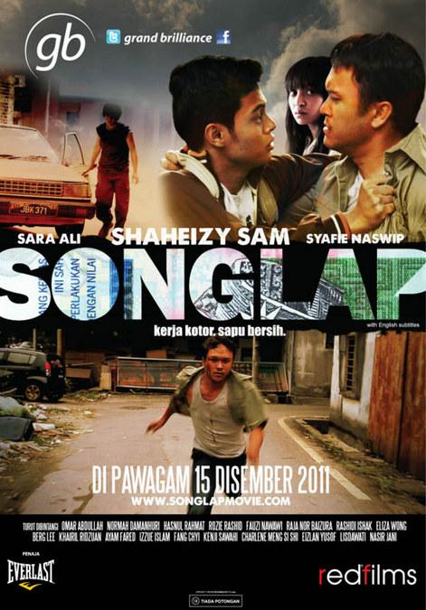 Poster Filem Songlap