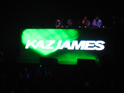 David Guetta in Manila: Kaz James