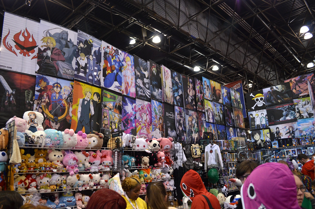 New York Comic Con 2012 Anime Figures