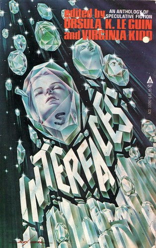 Interfaces. Edited by Ursula K. Le Guin and Virginia Kidd. Ace 1980. Cover artist Alex Ebel