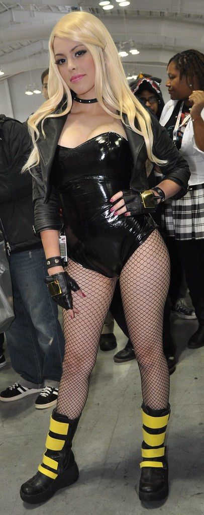 Hot Black Canary. She came all the way from Mexico