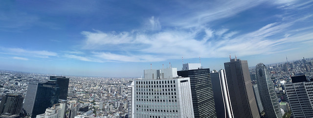 Shinjuku panorama view from Tokyo Prefecture (13000 x 4900px)
