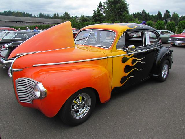 Flamed 1941 dodge 2 door sedan flickr photo sharing for 1940 dodge 2 door sedan