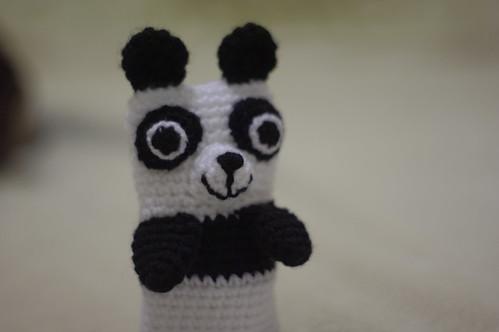 amigurumi #71 M Panda iPhone cosy 3