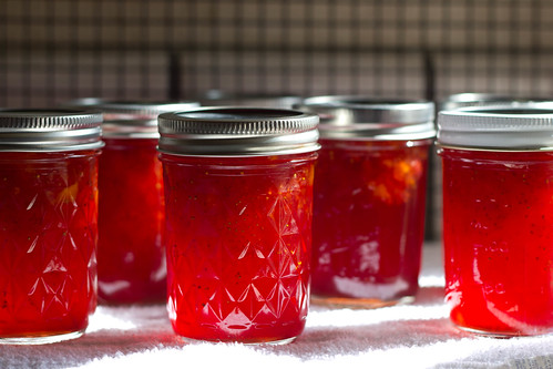 Strawberry Peach Jam?