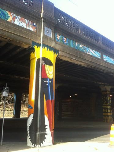 WPIR - bridge murals