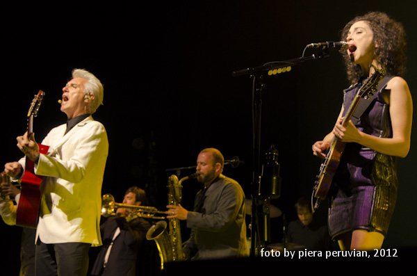 Beat Review: David Byrne & St. Vincent @ The Greek 10/13/2012