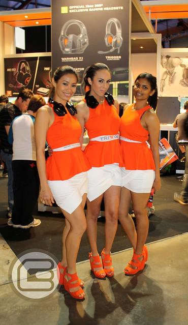 EB Expo 2012 Triton Booth Babes