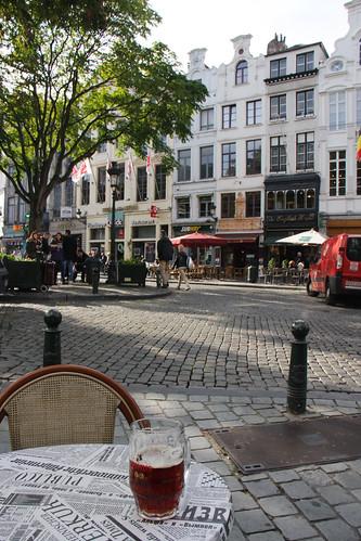 Beer at Le Rubens
