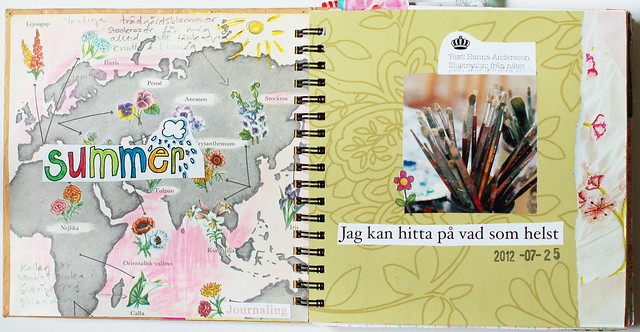 Smart Journal #1 Flower Map