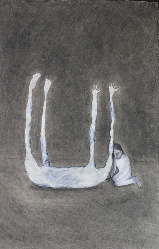 "Frances Jetter, ""Dead Thing with Figure"""