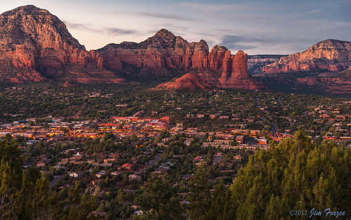 Sedona Sunset from Sky Ranch Lodge