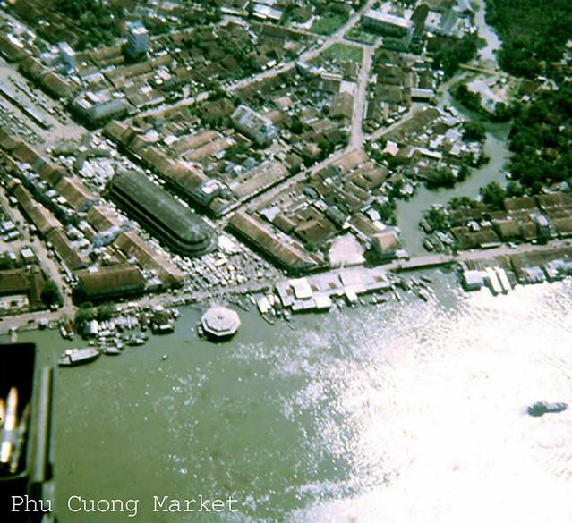 Không ảnh chợ Thủ Dầu Một trước 1975