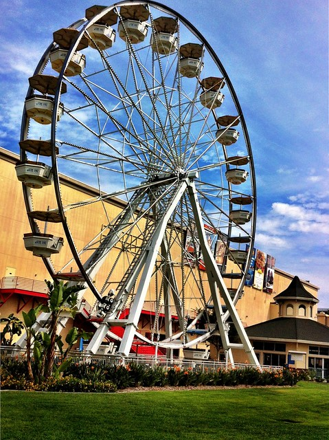 The Ferris Wheel at The Pike in Long Beach, CA
