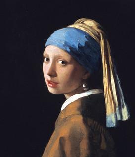 """La joven de la perla"", de Johannes Vermeer."