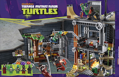 LEGO Teenage Mutant Ninja Turtles (TMNT) 79103 - Turtle Lair Attack