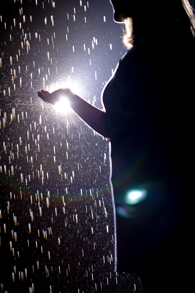 Walk between the raindrops