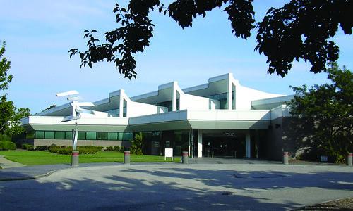 Meyera E. Oberndorf Central Library Exterior