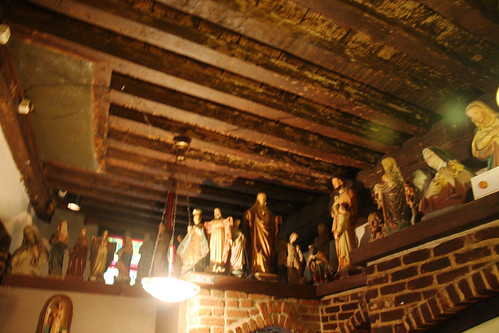 Crazy Religious Iconography Bar in Antwerp