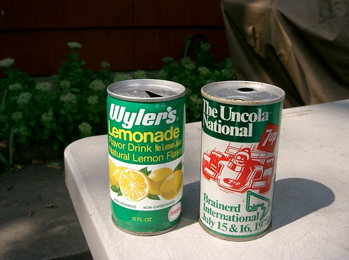 Summer 1978 pop cans