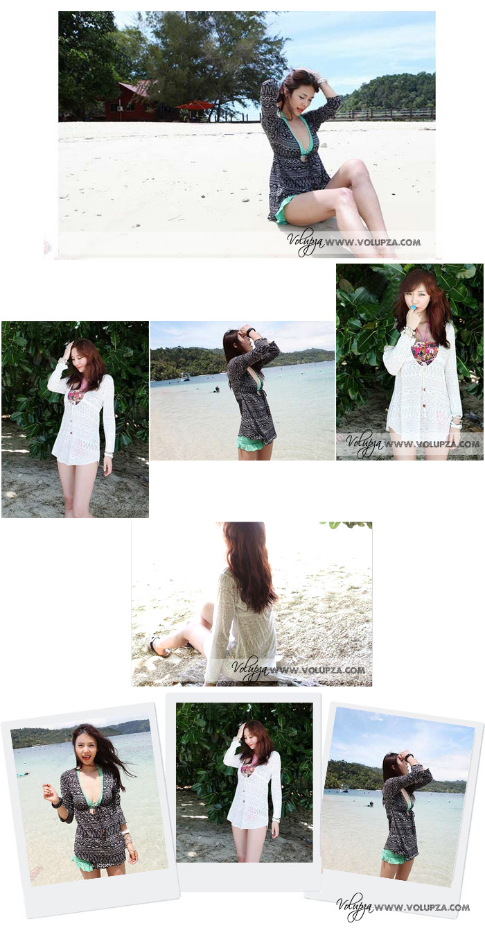 BEACH COVER UP 2