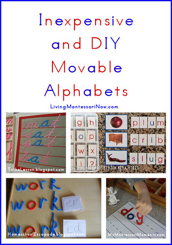 Free Printable Montessori Alphabet