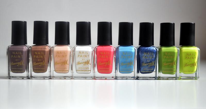 barry m nail polishes 2