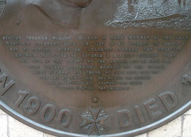 Photo of Bronze plaque number 10489