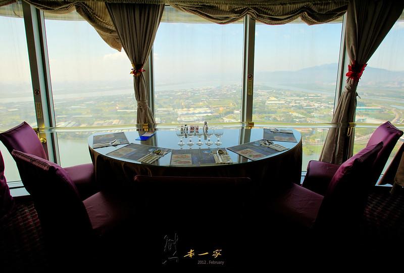 摘星樓旋轉景觀餐廳|北投焚化廠觀景台
