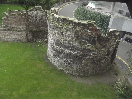 Museum of London - Roman London - ruins of London Wall