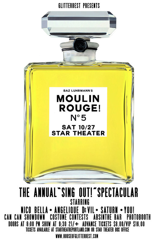 Moulin Rouge Sing Out 5 Year Anniversary @ Star Theater