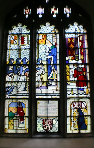 Simon de Montfort Window at St Lawrence Church