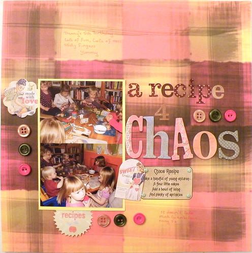 A recipe 4 Chaos