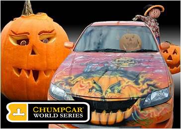 Chump Car Portland Halloween Races