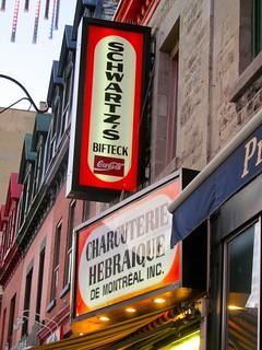 Schwartz's Charcuterie Heraique de Montreal