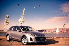 automobile, vehicle, automotive design, mazda, mazdaspeed3, land vehicle,