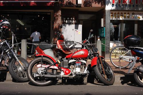 1942 Indian 741 bobber