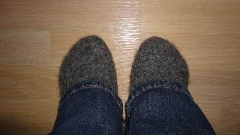 Fuzzy feet