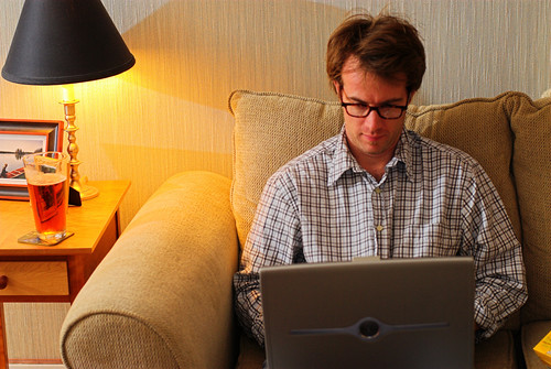 working from home (by: Ben McLeod, creative commons)