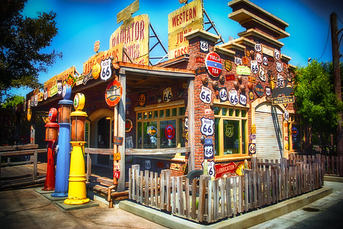 Radiator Springs Curios:  If We're Here, We're Open by hbmike2000