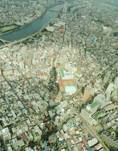 Tokyo Skytree's Shadow