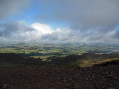 View from Pen-y-fan