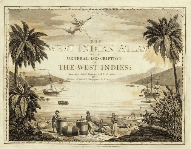 The West-India atlas or, a compendious description of the West Indies 1788