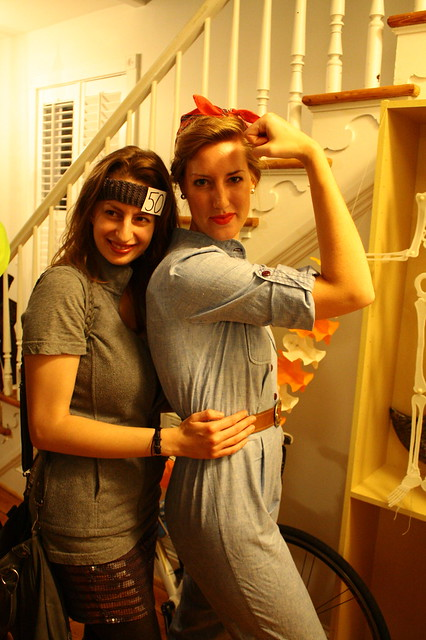 50 Shades of Grey and Rosie the Riveter