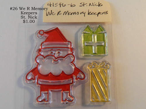 #26 We R Memory Keepers St. Nick $1.00